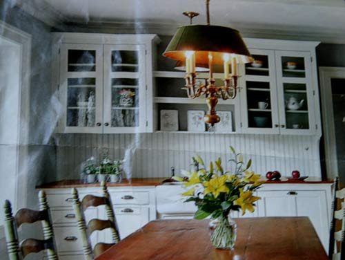 An Inspired Dining Room (And Beadboard Wallpaper Returns ...