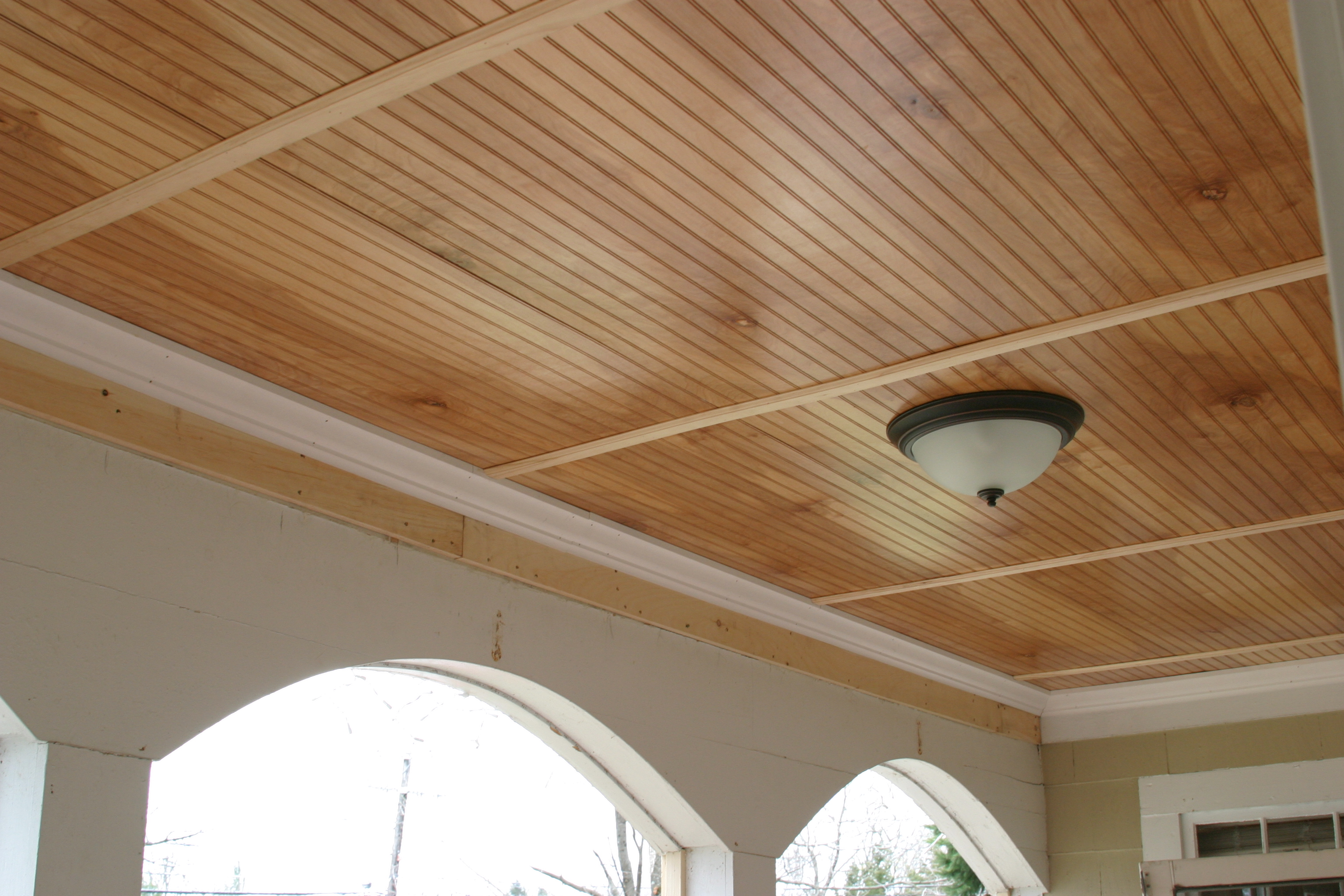 Installing A Beadboard Porch Ceiling Part 2 Designlively