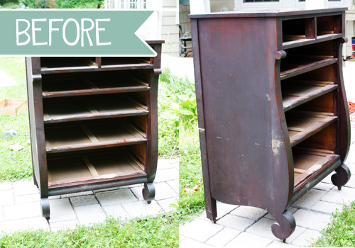 DIY Tutorial: How to Refinish an Old Dresser