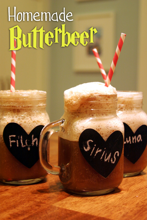 Recipe Welcome to Hogsmeade: Homemade Butterbeer - DesignLively