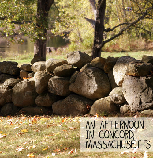 Spend an Afternoon in Concord, Massachusetts - DesignLively