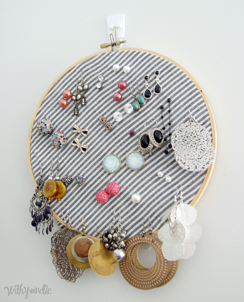 Easy DIY Earring Organizer - DesignLively