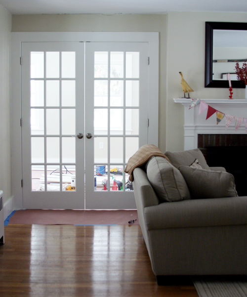 How to Paint Unfinished French Doors