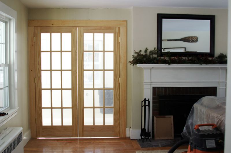 How to Paint Unfinished French Doors & How to Paint Unfinished French Doors u2013 DesignLively