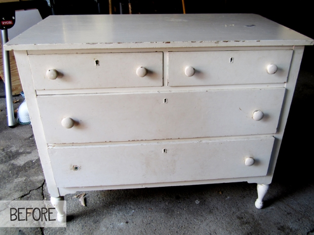 DIY Tutorial: Stripping a Painted Dresser
