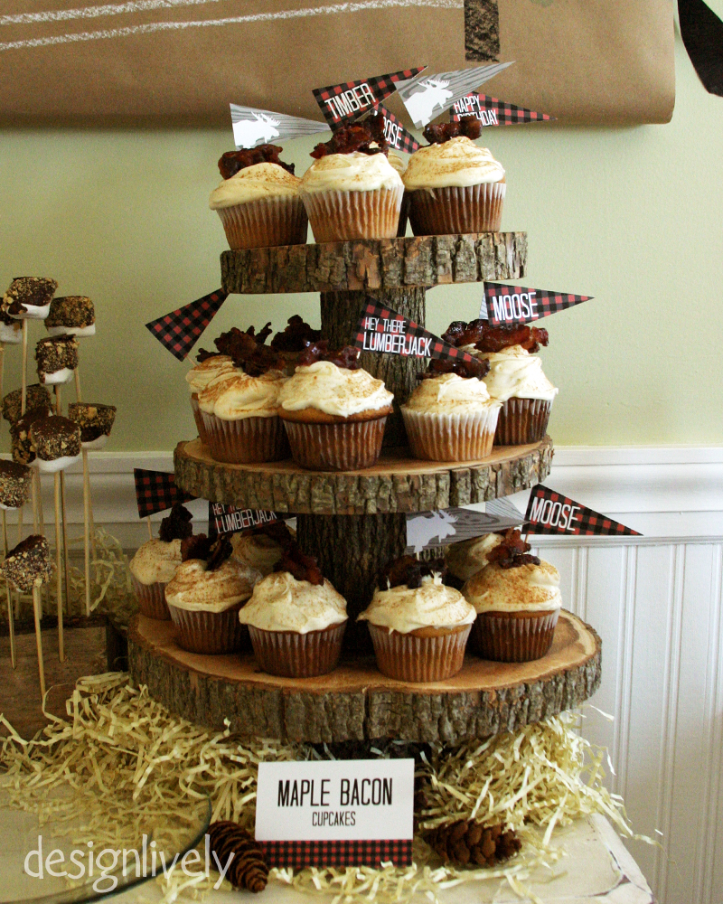A Lumberjack Birthday Party For Moose DesignLively