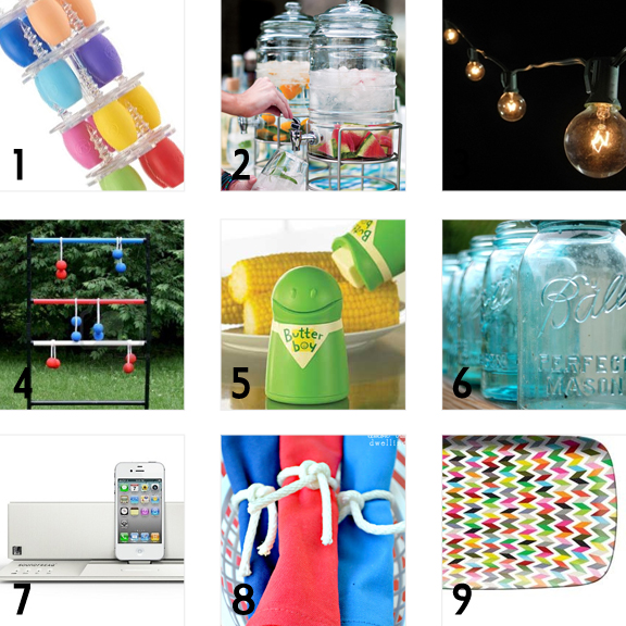 Must have Summer BBQ Party Accessories
