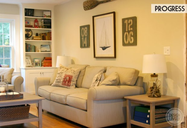 DesignLively: My DIY Living Room